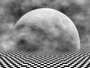 Background Moon and Floor