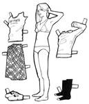 paper doll - goodygoody