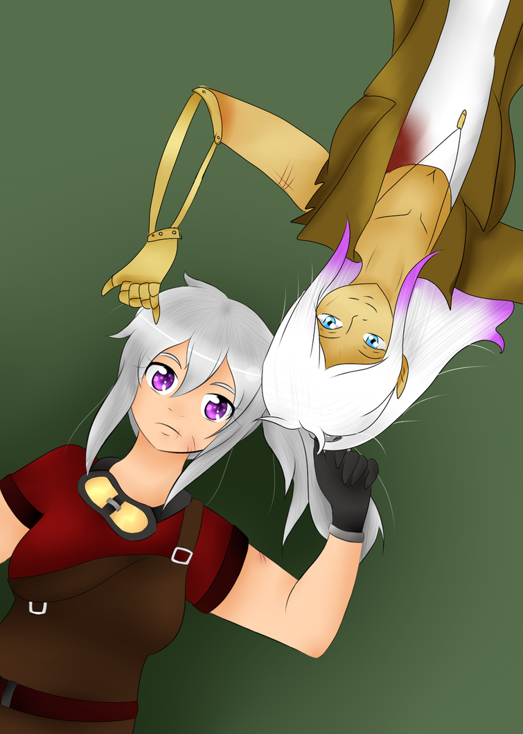 [Collab Crossovers ~]  Riya Et Nexxis by Ariane-Wesker