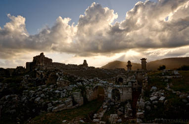 Sundown in Xanthos