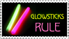 Glowsticks Rule stamp-JunkJen by stamps-club
