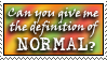 Normal? - EssyExclusive by stamps-club