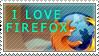 I love firefox - Xunto by stamps-club