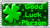 Good Luck Stamp - Sparkyard by stamps-club