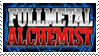 Fullmetal Alchemist Stamp by stamps-club