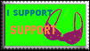 I Support SUPPORT - khymera by stamps-club