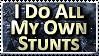Stunts Stamp - bandit4edu by stamps-club