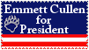 Emmett for President Stamp by stamps-club
