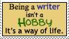 DO NOT FAVE - Writers Life by stamps-club