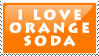 DO NOT FAV- I Love Orange Soda by stamps-club