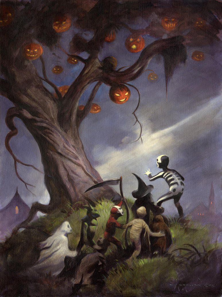 The Halloween Tree by themikehoffman on DeviantArt