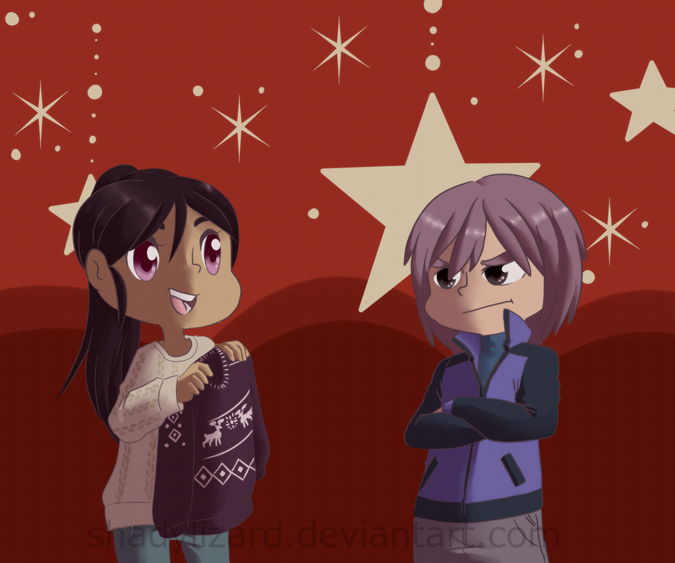 Ugly Christmas Sweaters by Saccharinerose on DeviantArt