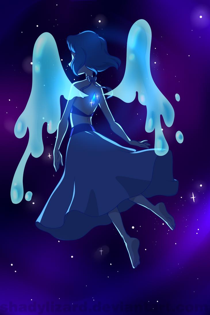 the gallery for gt steven universe lapis lazuli fan art