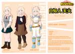 [BnHA OC] Hijiri Tenka Profile