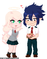 [BnHA OC] I made them for you by Saccharinerose