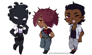 [BNHA OC] Casual Cheebs by Saccharinerose