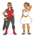 [SPOP AU] Lonnie Outfits