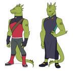 [SPOP AU] Rogelio Outfits