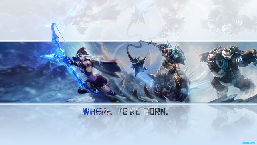 League of Legends Wallpaper Freljord by weeman234
