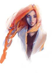 art portrait by roscheri