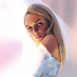 portrait Anastasia by roscheri
