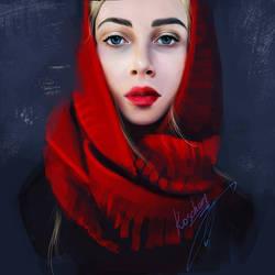 portrait Vera by roscheri
