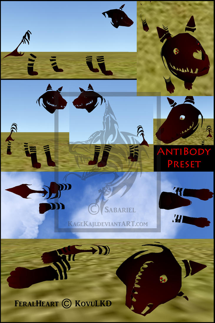Feral Heart: FeralHeart Preset: AntiBody By SabarielLocien On DeviantArt