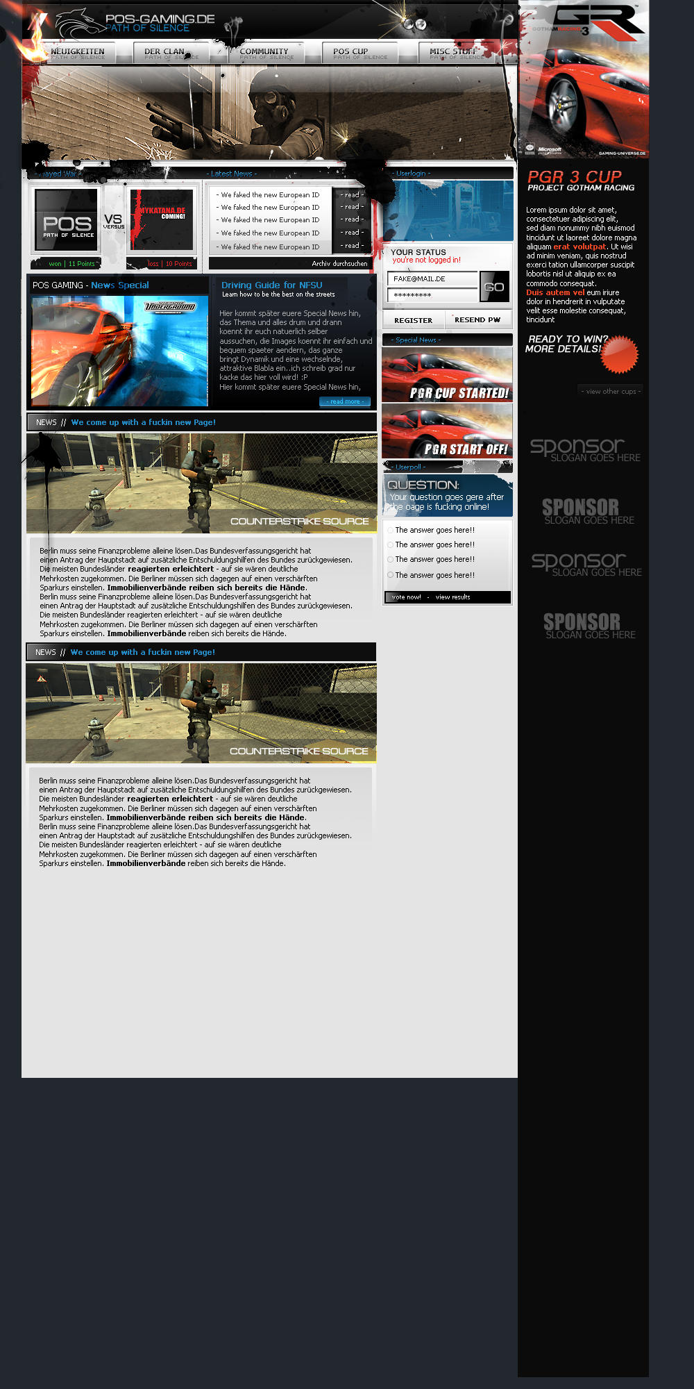 POS Gaming by herrh