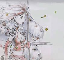 Wildflower Sketch by Billy68