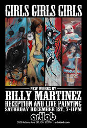 Art Lab - Billy Martinez Poster