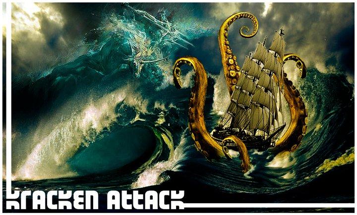 poseidon vs the kraken - photo #1