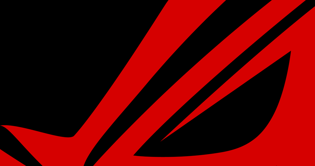 Red Asus Wallpaper: ROG MININMAL WALLPAPER BLACK RED By ROBERTGLAS On DeviantArt