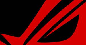 ROG MININMAL WALLPAPER BLACK RED