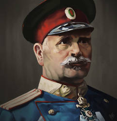 Colonel Vladimir Serafimov by Den4oStojanov