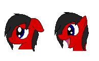 MLP Kage Icon Faces [Basic] by pokegirl150