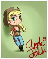 Applejack Autograph Alternative Outfit by EshianFulika