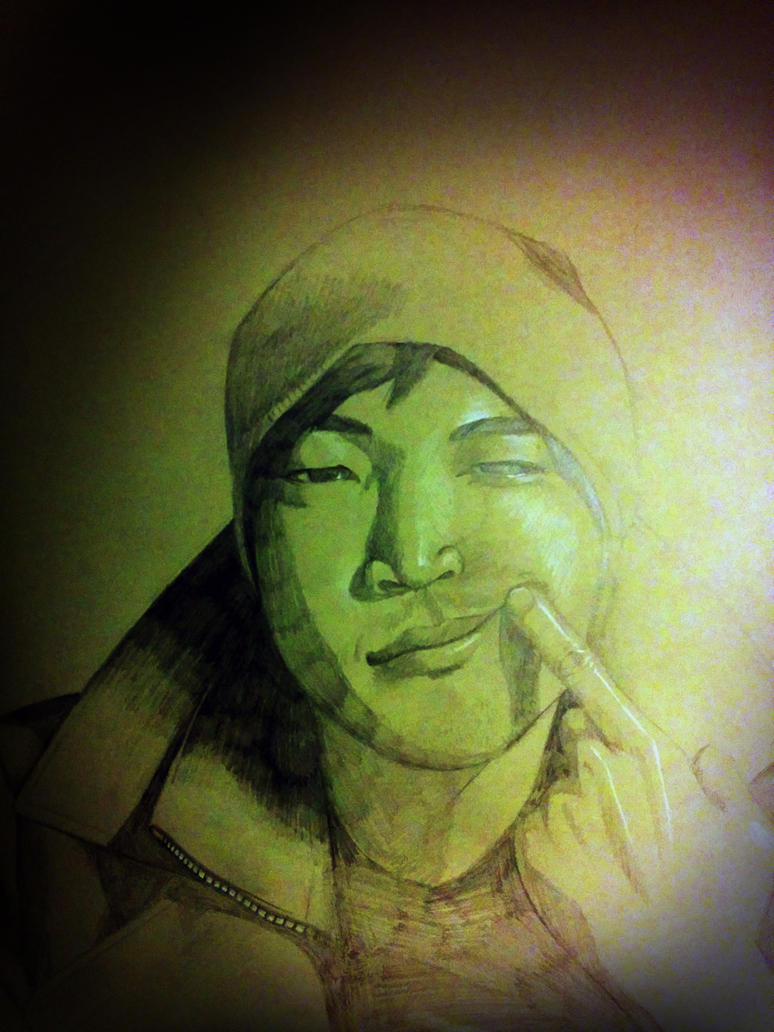 Self Portrait by EshianFulika