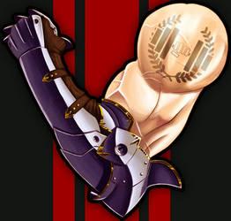 SirLiftsALot Twitch Sub-Badge Commission