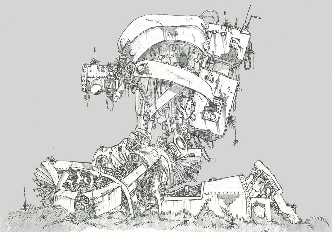 Robot1b2 by Braendis