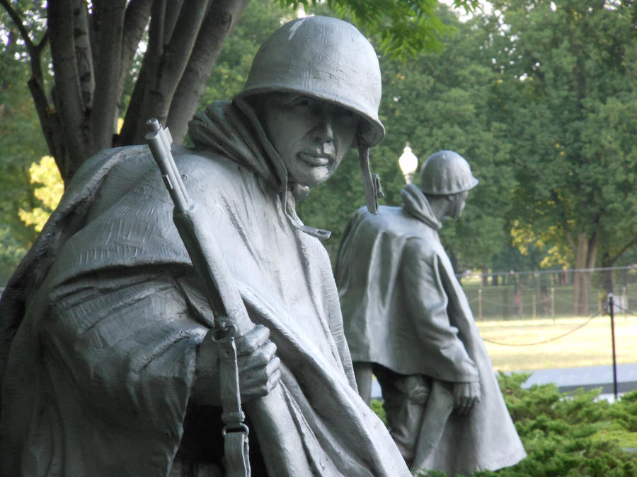 Korean War Memorial by pyrohound13