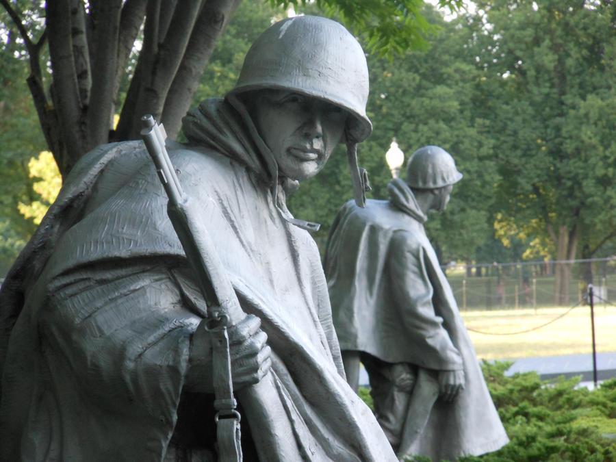 Korean War Memorial by pyrohound13