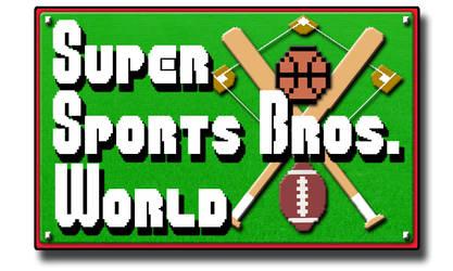 Super Sports Bros. World Banner