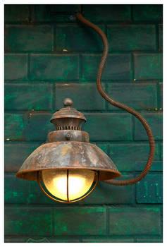 Steampunky Lamp