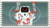Jailbot Stamp by superjailclub