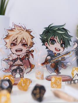 Fantasy Deku and Bakugou