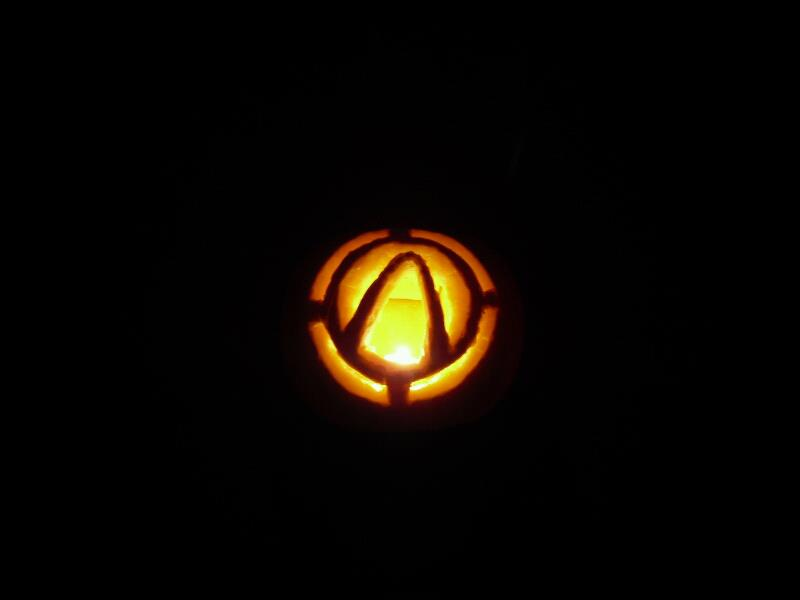 Vault Symbol Pumpkin By Masani On Deviantart