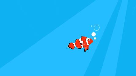 Modern Fish Wallpaper by JosephSM