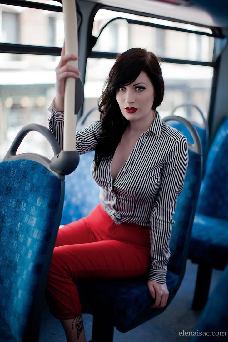 Bus ride by ElenaIsac