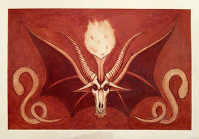 Baphomet of Blood by AshleyRussell