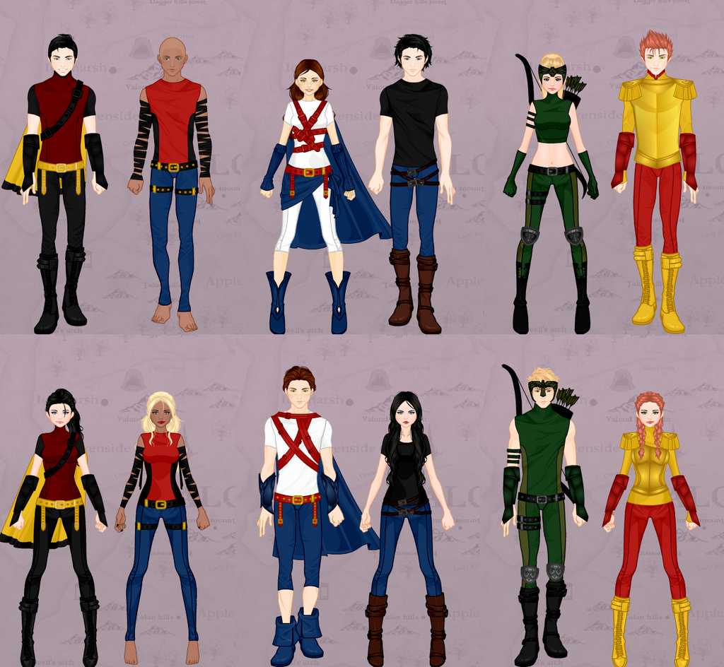 Young justice by wintersnow123 on deviantart